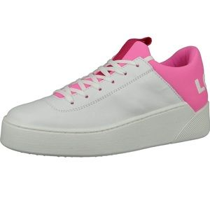 Pink and White Levi Shoes